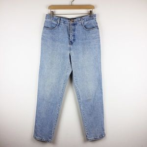 Vintage high waisted mom jeans light 90s style